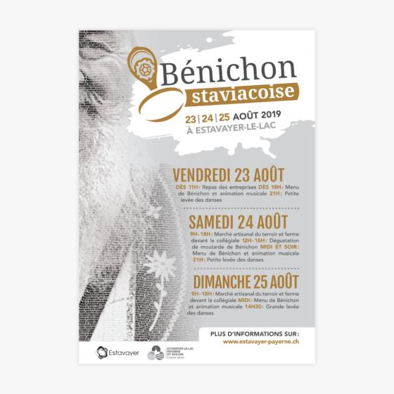 Bénichon staviacoise Afficje 2019